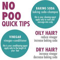 No Poo Method Quick Tips