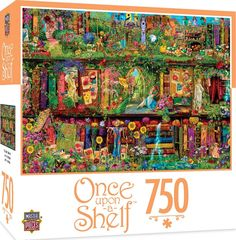 MasterPieces Once Upon a Shelf Mystical Garden - Garden of Books 750 Piece Jigsaw Puzzle by Aimee Stewart, Jigsaw Puzzles - Amazon Canada