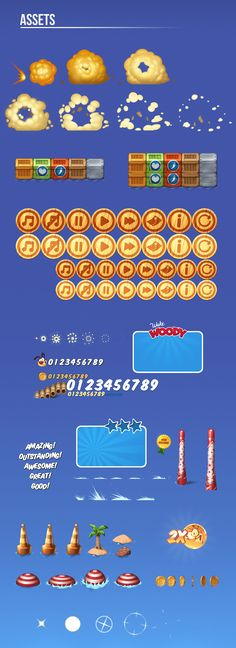 item, button, effect, animation,