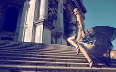 Photographed by Koray Parlak Stylist: Hakan Ozturk Beauty by: Shelly Lashley Model: Viola Kowal Location: Venice / Italy