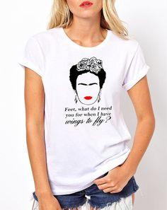 73b7ba00f2b Frida Kahlo T-SHIRT Frida Kahlo T Shirt