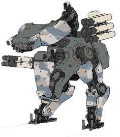 Metal Gear Gray Camo