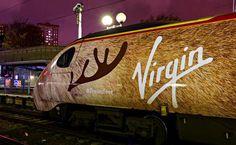 Virgin Trains Unveil The Traindeer
