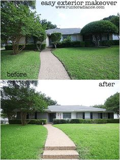 You wont find an EASIER exterior makeover with such HUGE RESULTS!