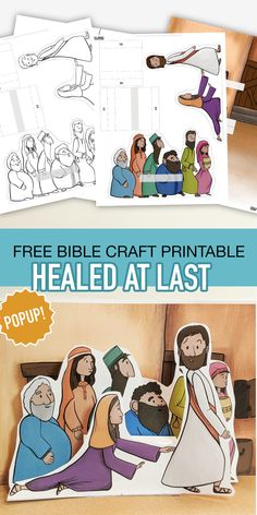 Healed at Last – 12 years sick! Bible Stories For Kids, Bible Crafts For Kids, Bible Study For Kids, Kid Crafts, Sunday School Activities, Sunday School Crafts, Jesus Crafts, Church Crafts, Bible Teachings
