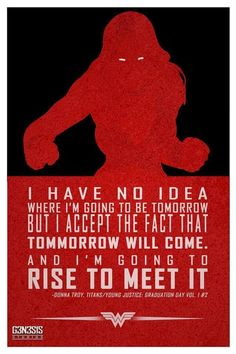 Wonder Girl quote