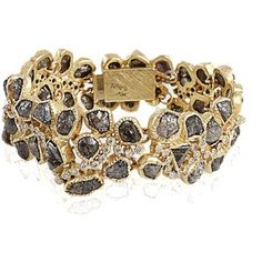 Todd Reed Diamond Cluster Bracelet