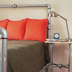 Pipe bed frame. sr