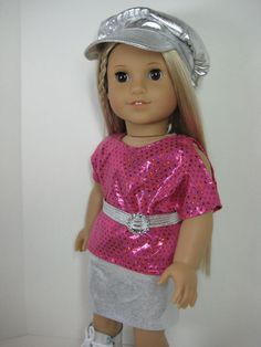 SALE 18 Inch Doll Clothes American Girl Pink and by nayasdesigns, $32.00