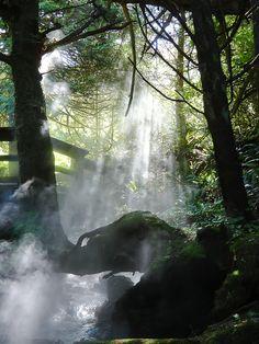 Canada Hot Springs near Tofino, (Vancouver Island)