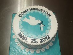 Confirmation Cakes for Boys | Cakes by Paula: Boy Confirmation