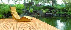 Robine-Terrasse am Teich