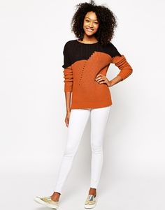 Enlarge Vero Moda Color Block Sweater