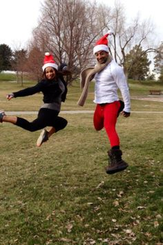 Santa Hat Dash SLC & NYC #flashdashseries #holidayruns #running #funruns #christmas #santaruns
