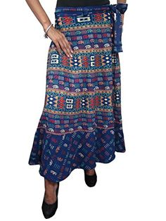 Sexy Wrap Skirt Blue Cotton Printed Hippie Boho Wrap Around Skirts Dress Mogul Interior http://www.amazon.com/dp/B00R7C4F0A/ref=cm_sw_r_pi_dp_lQuLub1SMAJ6W