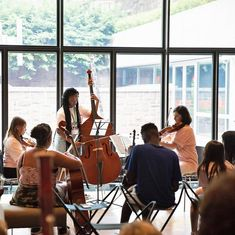 @yale • • • • • The Morse Summer Music Academy students visited the Yale University Art Gallery last Friday and shared their beautiful music. . You have a second chance to see them perform tomorrow (July 20) 2pm at the Beinecke Library. . #Yale (Photo: @YaleArtGallery) @beineckelibrary #beineckelibrary @yalemusicinschools #morsesummermusicacademy #yalemusic #musicandart #newhavenpublicschools #musicinthemuseum #freeandopentothepublic Newhaven, Best University, Art Gallery, Students, Public, Friday, Summer, Beautiful, Art Museum