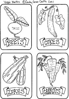 Vegetables Coloring Pages Free Printable Download Khaa