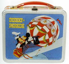 Vintage lunchbox - Mickey on Parade