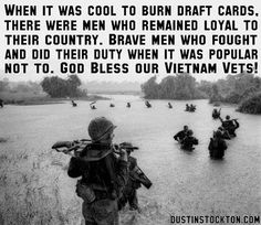 """A big divide in our country!  The men and women who made the sacrifice contrasted with the """"draft dodgers"""" who fled to Canada....."""