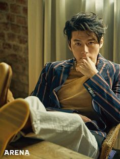 Hyun Bin on the Cover of Arena Homme Plus Korea April 2018 Korean Star, Korean Men, Asian Men, Hyun Bin, Asian Actors, Korean Actors, Asian Celebrities, Seo Jin, Song Joong