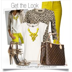 Everything about this outfit ROCKS! Tony the tiger is on the prowl....:)