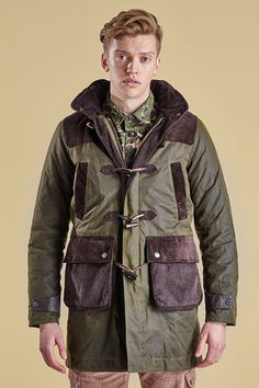 Barbour x White Mountaineering F/W 2015