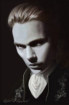Lestat de Lioncourt (from the books, not the movies). Best vampire Ever!
