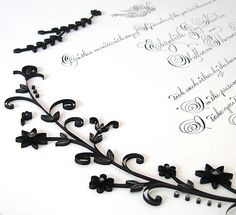 close-up of gorgeous marriage certificate