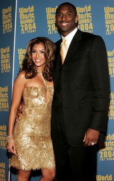 Vanessa and Kobe Bryant Kobe Bryant And Wife, Kobe Bryant Family, Kobe Bryant 24, Black Celebrities, Celebs, Black Celebrity Couples, Kobe Bryant Quotes, Love And Basketball, Kobe Basketball