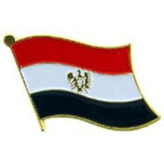 """Egypt Flag Pin 1"""" by FindingKing. $8.50. This is a new Egypt Flag Pin 1"""""""