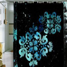 Madart Inc. Modern Dance Mysterious Shower Curtain