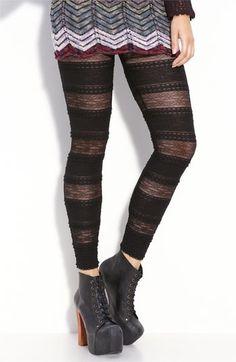 Free People 'Pucker' Lace Leggings | Nordstrom - StyleSays
