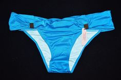 Victoria's Secret Hottie Cheeky Bikini Bottom Blue Deep Turquoise Medium M NEW ~ #VictoriasSecret #BikiniBottom
