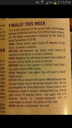 Irish humour