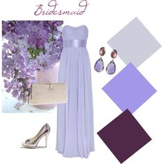 #Bridesmaid Collection # 7 #Lilac and #Wine