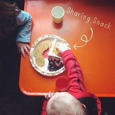 {Learning to Share} - At what age do you think children should start sharing? Do parents have any control over sharing - or is it mostly up to brain development? craftingconnections.net