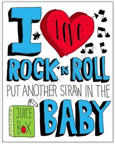On The Surface: I Love Rock 'n Roll Print hitting the shop soon!