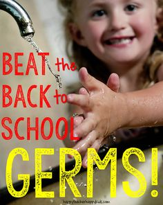 Beat the Back to School Germs #freebie #backtoschool