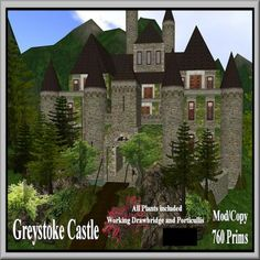 Second Life Greystoke Castle