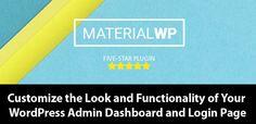 Customize Your WordPress Adminwith the Material WP Plugin