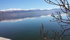 Λιμνη παμβωτις #ιωαννινα Our Town, Greece, Mountains, City, Nature, Travel, Greece Country, Naturaleza, Viajes
