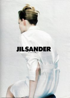 Jil Sander campaign SS 1996 by Craig McDean