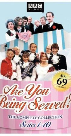 Created by Jeremy Lloyd, David Croft. With Mollie Sugden, John Inman, Frank Thornton, Wendy Richard. The misadventures of the staff of a retail floor of a major department store. The comedy is built on tons of miscommunication and innuendo. They have some great characters to work with here.
