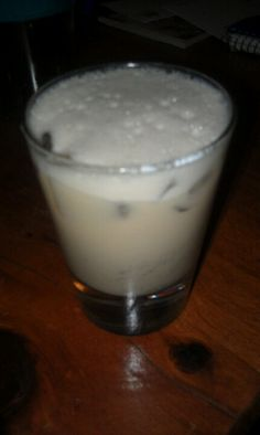 UNBIRTHDAY cake drink.... Shot of chocolate cake vodka, shot of whipped vodka, shot of Baileys and a splash of cream soda. Shake with ice and enjoy.
