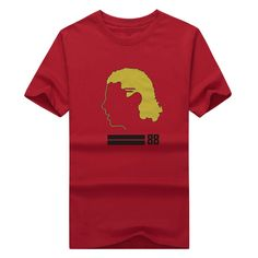 Cool Printed 2017 Patrick Kane gold hair o-neck Chicago T shirt tee t-shirt Tees 100% Cotton for Blackhawks fans gift 0302-20 #Affiliate