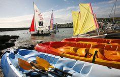 Base Nautique de l'Ouest - La base nautique de l'ouest met à la disposition de ses membres : optimist, hobie cat, kayaks, bateaux de sécurité, club house.