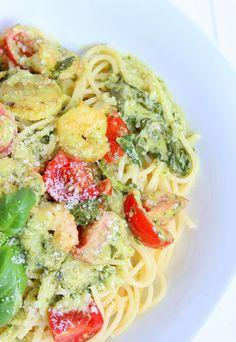 vapiano pasta,pasta mit spinat und scampi,thermomix rezept
