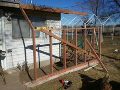 Adding the greenhouse on