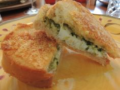 Parmesan Crusted Pesto Grilled Cheese Sandwich paired with La Carraia ...