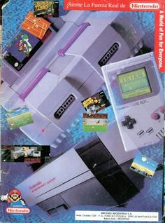 Nintendo Game Boys & Games--I have all of these, all the games that go with them, and they still work.